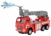 Пожарный автомобиль ТЕХНОПАРК Камаз (KAM-F-RC) 30 см