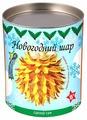Волшебная Мастерская Набор для создания елочных украшений Новогодний шар (ШФ-03)