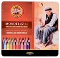 KOH-I-NOOR Акварельные карандаши Mondeluz, 24 цвета (3724024001PL)