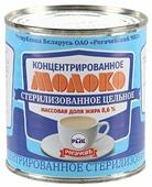 Молоко концентрированное Рогачевский молочноконсервный комбинат цельное стерилизованное 8.6%, 300 г