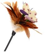 Дразнилка для кошек GiGwi Feather Teaser с ручкой (75429)