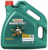 Моторное масло 5W30 синтетическое CASTROL Magnatec A5 4 л (15583D)