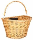 Передняя корзина на велосипед Schwinn Wicker Basket быстросъёмная