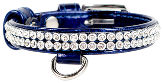 Ошейник COLLAR Brilliance полотно стразы 3307/3264/3265 19-25 см