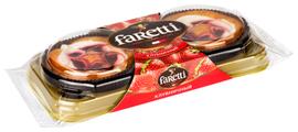 Пирожное Faretti клубничное