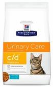 Корм для кошек Hill's Prescription Diet при лечении МКБ, с океанической рыбой