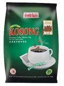 Молотый кофе Gold Kili Kopi O Kosong Extra Strong без сахара, в фильтр-пакетах