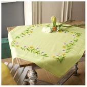 Vervaco Набор для вышивания скатерти Одуванчики 80 х 80 см (PN-0149953)
