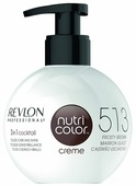 Крем Revlon Professional Nutri Color 3 in 1 cocktail 513 Frosty Brown