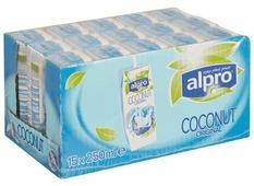Кокосовый напиток alpro Оригинальный с рисом, без сахара 0.9%, 250 мл, 15 шт.