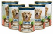 Корм для собак Happy Dog NaturLine телятина с рисом 400г