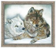 Алмазная живопись Набор алмазной вышивки Инь и Янь (АЖ-1402) 50х40 см