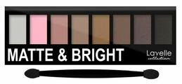 Lavelle Тени для век Matte&Bright 8 цветов
