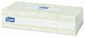 Салфетки TORK косметические для лица ультрамягкие 120380 21 х 19 см