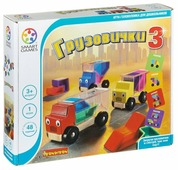 Головоломка BONDIBON Smart Games Грузовички 3 (BB0867)