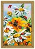 Алмазная живопись Набор алмазной вышивки Солнечные цветы (АЖ-1311) 40х60 см