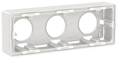 Коробка наружного монтажа Schneider Electric NU800618, белый
