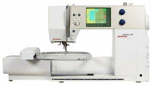 Швейная машина Bernina Artista 640 c вышивальным модулем