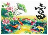 Чудесная Игла Набор для вышивания Богатство 25 x 18 см (87-03)