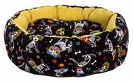 Лежак для собак PRIDE Ватрушка Гав (10011160) 45х45х12 см