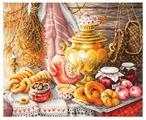 Чудесная Игла Набор для вышивания У самовара 40 x 34 см (50-09)
