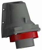 Вилка силовая (CEE) стационарная для монтажа на поверхности/оборудовании ABB 2CMA101204R1000