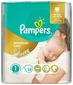 Pampers подгузники Premium Care 1 (2-5 кг) 22 шт.
