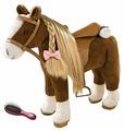 Gotz коричневая лошадь с расчёской (3402375)