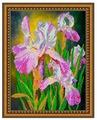 Светлица Набор для вышивания бисером Ирисы 30,9 х 25 см (276)
