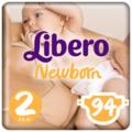 Libero подгузники Newborn 2 (3-6 кг) 94 шт.