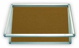 Доска-витрина пробковая 2x3 Витрина GK296 (60х90 см)