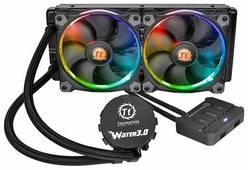 Кулер для процессора Thermaltake Water 3.0 Riing RGB 240
