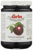 Конфитюр d'arbo Naturrein Черная вишня, банка 450 г