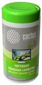 Cactus CS-T1001E влажные салфетки 100 шт.