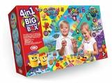 Шариковый пластилин Danko Toys Big creative box 4 В 1 (BCRB-01-01)