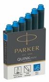 Картридж для перьевой ручки PARKER Quink Z17 Mini Washable (6 шт.)