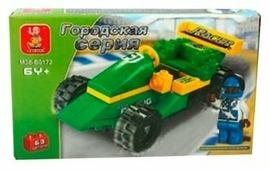 Конструктор SLUBAN Городская серия M38-B0172 Racing Car