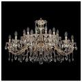 Bohemia Ivele Crystal 1703/24/360/C/GW, E14, 960 Вт