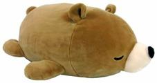 Мягкая игрушка ABtoys Медвежонок коричневый 27 см