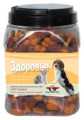 Лакомство для собак Green Qzin Здоровье, галеты злаковые с телятиной и курицей