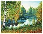 Белоснежка Набор для вышивания бисером Родные места 30 x 24 см (9068-CM)