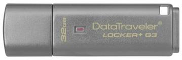 Флешка Kingston DataTraveler Locker+ G3