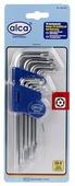 Набор торцевых ключей ALCA 446100 9 шт.