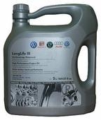 Моторное масло VOLKSWAGEN LongLife III 5W-30 5 л
