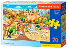 Пазл Castorland Парк динозавров (B-07046), 70 дет.