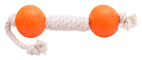 Гантель для собак Doglike Dental Knot канатная большая (D-2368)