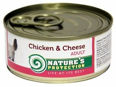 Nature's Protection Корм для кошек Nature s Protection Консервы Cat Adult Chicken & Cheese