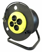 Jett Электрический удлинитель на катушке 4 гн. 25 м (ПВС 2x0,75)