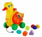 Каталка-игрушка Полесье Уточка-несушка (6042)