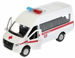Микроавтобус ТЕХНОПАРК ГАЗель NEXT Скорая помощь (SB-18-19-A-W-WB/SB-18-19-A-Y-WB) 12 см